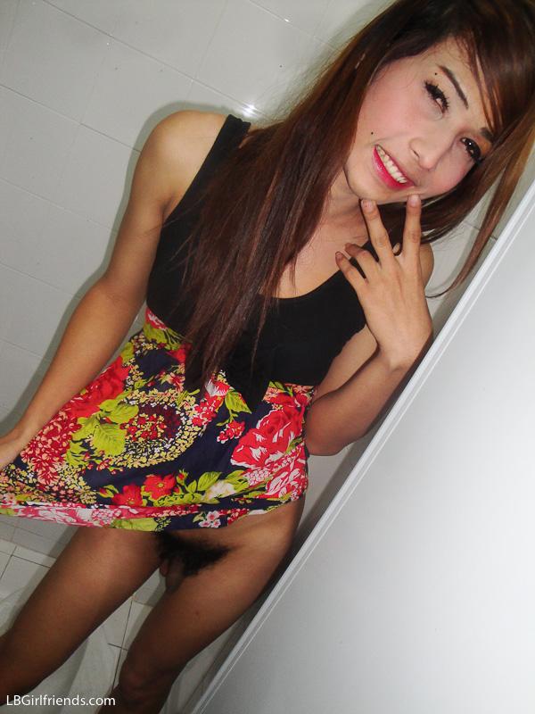 Nude in toilet girl thai