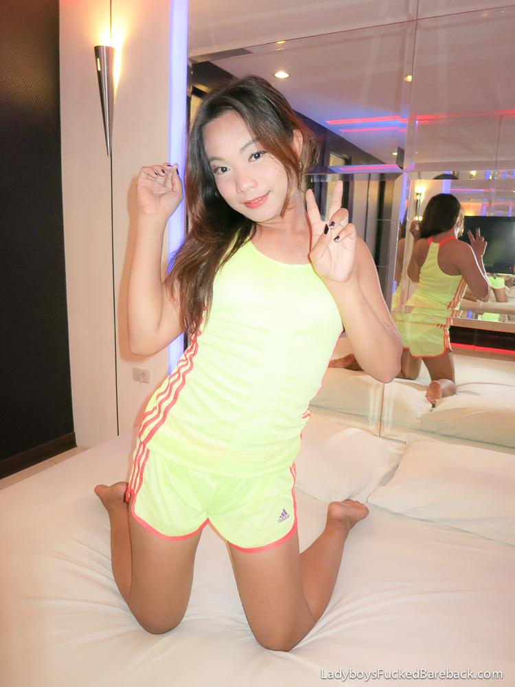 Asian naked girls butt bubble