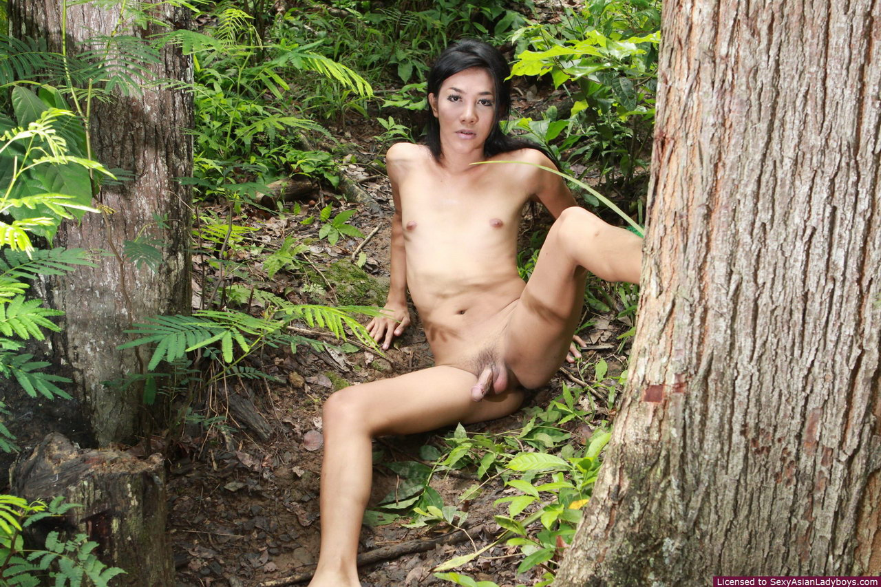 Seems magnificent Girls naked in the forest